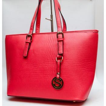 Women Red Color Travel Tote